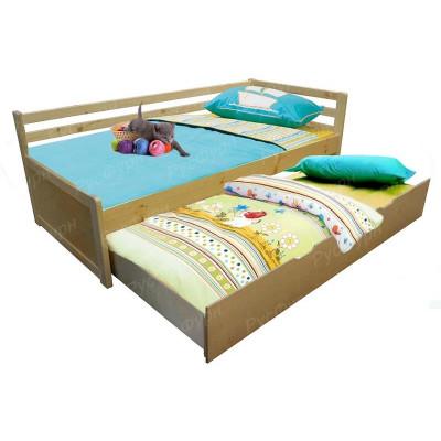 Детская кровать ВМК-Шале «Дуэт 1» 90 см