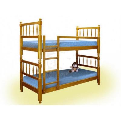 Двухъярусная кровать ВМК-Шале «Наф-Наф» 80 см