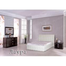 Мягкая кровать ВМК-Шале «Лаура» 140 см