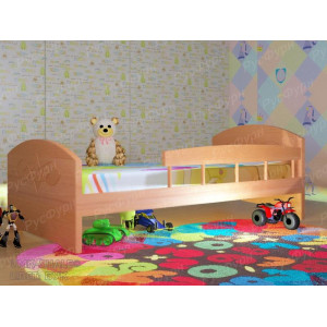 Детская кровать ВМК-Шале «Жанна» с бортиком 80 см