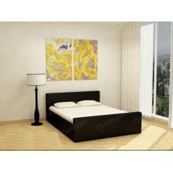 Мягкая кровать ВМК-Шале «Белла» 140 см