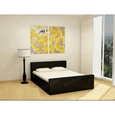 Мягкая кровать ВМК-Шале «Белла» 90 см