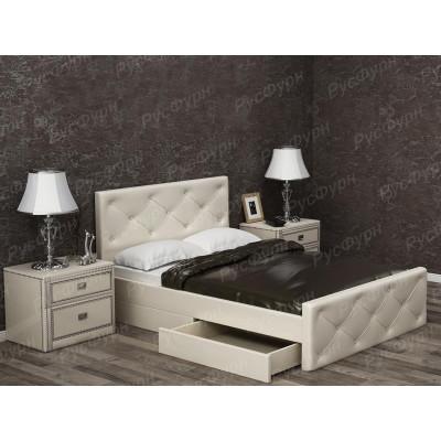 Мягкая кровать ВМК-Шале «Сантана» 140 см