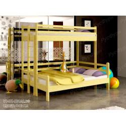 Двухъярусная кровать ВМК-Шале «Орленок» 90х120 см