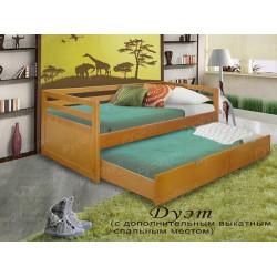 Детская кровать ВМК-Шале «Дуэт» 80 см