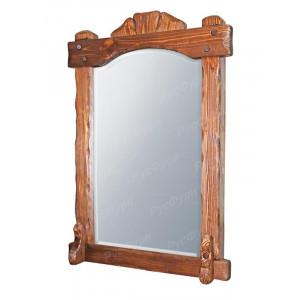 Зеркало в деревянной раме «ВМК-Шале»