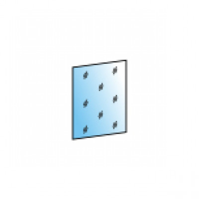 Зеркало ЗР-1022 (для АН-1023) для гостиной Лером «Карина»