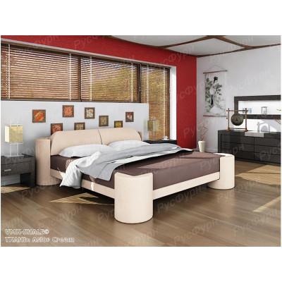 Мягкая кровать ВМК-Шале «Марго» 90 см