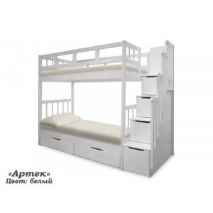 Двухъярусная кровать ВМК-Шале «Артек» 70 см