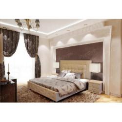 Мягкая кровать ВМК-Шале «Амфирея» 120 см