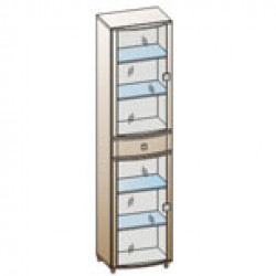 Шкаф ШК-321 для гостиной Лером «Оливия»