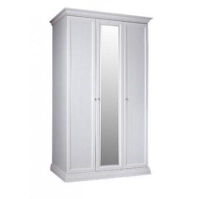 Шкаф 3-х дв. для платья и белья (1 зеркало)