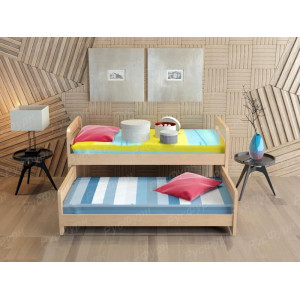Детская кровать ВМК-Шале «Мурзилка» 80 см