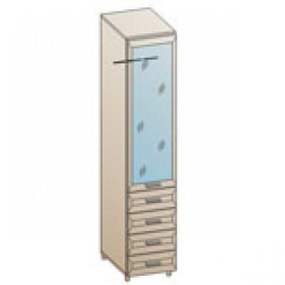 Шкаф ШК-847 для детской Лером «Ксюша»
