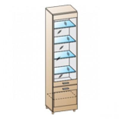 Шкаф ШК-1644 для гостиной Лером «Камелия»