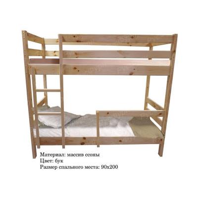 Двухъярусная кровать ВМК-Шале «Тандем» 90 см