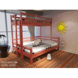 Двухъярусная кровать ВМК-Шале «Орленок» 70х120 см