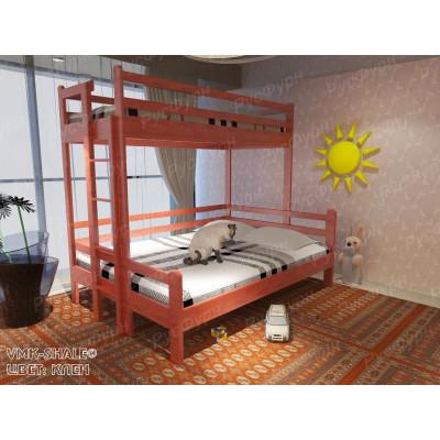 Двухъярусная кровать ВМК-Шале «Орленок» 70х140 см