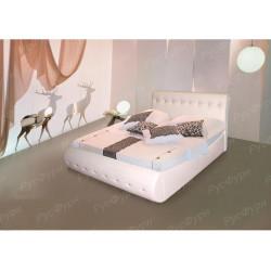 Мягкая кровать ВМК-Шале «Гретта» 120 см