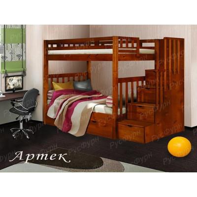 Двухъярусная кровать ВМК-Шале «Артек» 90 см