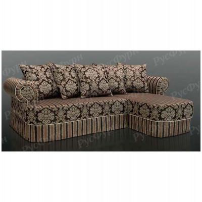 Угловой диван Благо-9 Adel Stripe 62