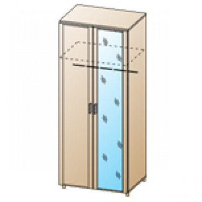 Шкаф ШК-1704 для спальни Лером «Камелия»