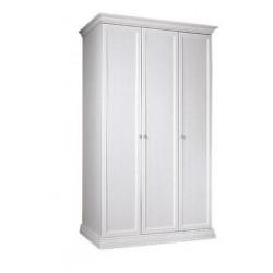Шкаф 3-х дв. для платья и белья (без зеркал)