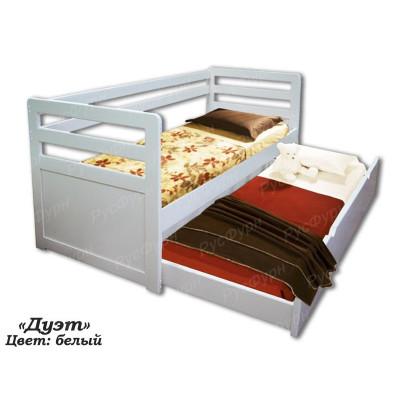 Детская кровать ВМК-Шале «Дуэт» 90 см