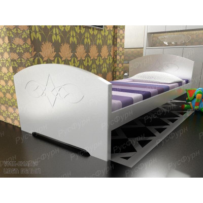 Детская кровать ВМК-Шале «Жанна» 80 см