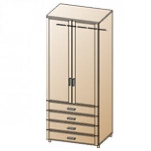 Шкаф ШК-1706 для спальни Лером «Камелия»