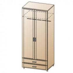 Шкаф ШК-1705 для спальни Лером «Камелия»
