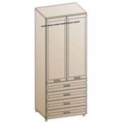 Шкаф ШК-840 для детской Лером «Ксюша»