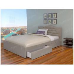 Мягкая кровать ВМК-Шале «Лора» 140 см