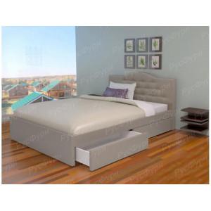 Мягкая кровать ВМК-Шале «Лора» 160 см