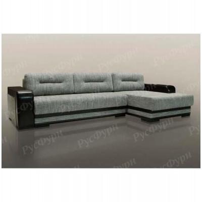 Угловой диван Благо-14 Mistik Titan Black