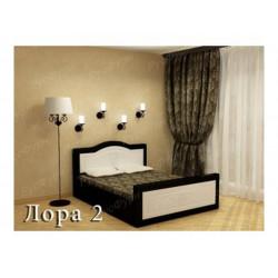 Мягкая кровать ВМК-Шале «Лора 2» 120 см