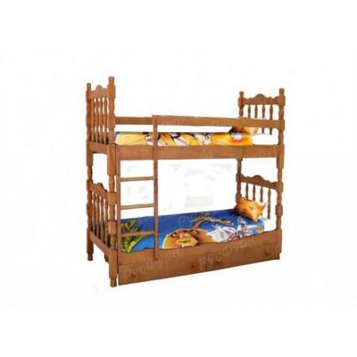 Двухъярусная кровать ВМК-Шале «Шрек 2» 90 см