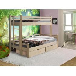 Двухъярусная кровать ВМК-Шале «Орленок» 80х120 см