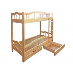 Двухъярусная кровать ВМК-Шале «Джерри» 80 см
