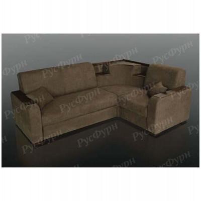 Угловой диван Благо-15 Allure All Choco