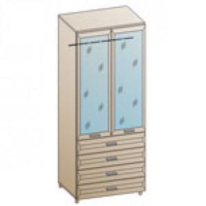 Шкаф ШК-845 для детской Лером «Ксюша»