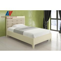 Кровать КР-2071 (1,2х2,0) для спальни Лером «Камелия»