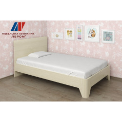 Кровать КР-114 (1,2х2,0) для спальни Лером «Дольче Нотте»