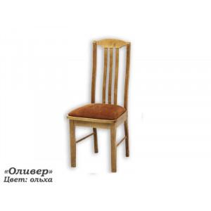 Деревянный стул ВМК-ШалеОливер с мягким сиденьем