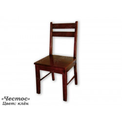 Деревянный стул Честос