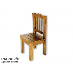 Деревянный стул ВМК-ШалеДачный