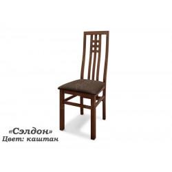 Деревянный стул ВМК-ШалеСэлдон с мягким сиденьем