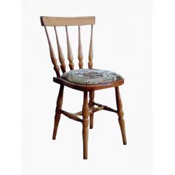 Деревянный стул ВМК-ШалеГенри с мягким сиденьем