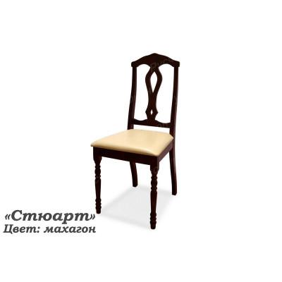 Деревянный стул ВМК-ШалеСтюарт с мягким сиденьем