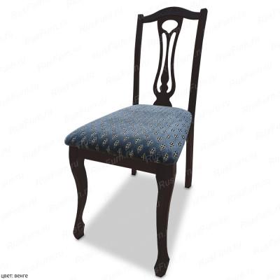 Деревянный стул ВМК-Шале Арганта с мягким сиденьем